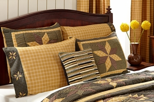 """Amherst Standard Sham Quilted 21"""" x 27"""" by VHC Brands"""