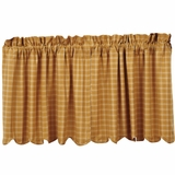 Amherst Tier Scalloped Lined Set of 2 L24xW36 - 14535 by VHC Brands