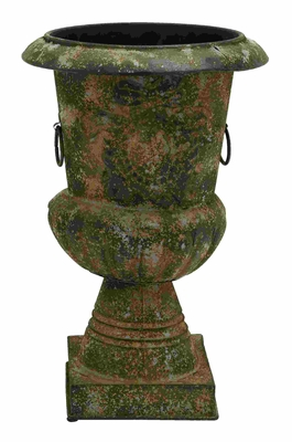 Ancient Greek Style Pottery Vase With Ring Handles Brand Woodland