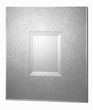 Andover Modern Wall Mirror with Antiqued Etched Edges Brand Uttermost