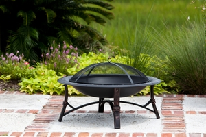 Andria Fire Pit, Attractive And Durable Heating Utility by Well Travel Living