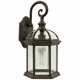 Anita Collection Traditionally Styled 1 Light Exterior Lighting in Venetian Bronze by Yosemite Home Decor