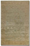 Anna Maria 6' Hand Knotted New Zealand Wool Rug in Light Blue Brand Uttermost