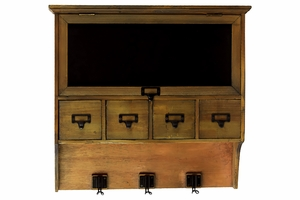 Antique and Customary Styled Wooden Cabinet