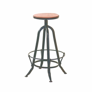 Antique Designed Bar Stool by Yosemite Home Decor