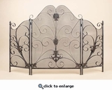 Antique Fire Screens