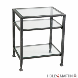 Antique Holly and Martin Guthrie End Table by Southern Enterprises