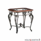 Antique Holly and Martin Newcastle End Table by Southern Enterprises