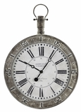 Antique Styled Metal Finish Attractive Bolton Clock by Cooper Classics