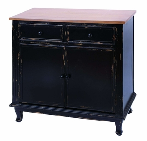 Antique Table Top Drawers In Handcrafted Aged Black Wood Brand Woodland
