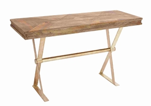 Argenteuil Alluring Creative Console Table Brand Benzara