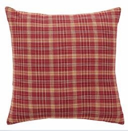 "Arlington Fabric Pillow 16x16"" VHC Brand - 12254 Brand VHC"