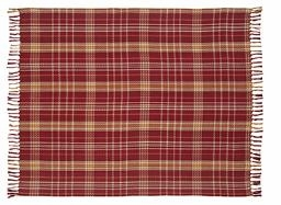 "Arlington Woven Throw 50x60"" VHC Brand - 12283 Brand VHC"