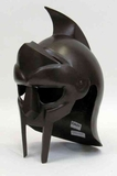 Armor Helmet - Antique Roman Gladiator Helmet With Spike Brand IOTC