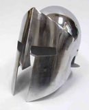 Armor Helmet - Spartan Generals Helmet With Chrome Finish Brand IOTC