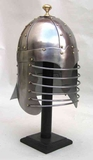 Armor Helmet - Steel Persian Helmet With Brass Trim Brand IOTC