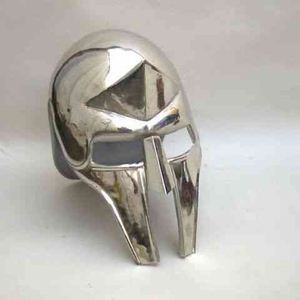 Armor Helmet - Steel Roman Gladiator Helmet With Chrome Brand IOTC