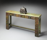 "Artifacts Console Table 55""W by Butler Specialty"