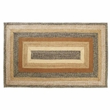 Artistic and Abstract Kettle Grove Jute Rug Rect by VHC Brands