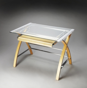 Artistic Myopic Modern Computer Desk by Butler Specialty