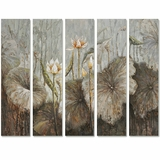 Artistic Picture of Flowers in the Wild by Yosemite Home Decor