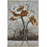 Artistic Piece Of Art Fleur I Classy Painting by Yosemite Home Decor