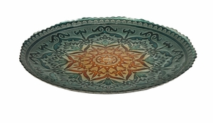 Artistic Ravenna Glass Charger