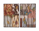 Artistic Styled Metal Wall D�cor Assorted by Woodland Import