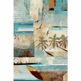 Artistic Styled Tropical Mystique Painting by Yosemite Home Decor