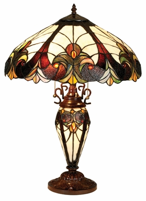 Artistically Beautiful Victorian Table Lamp by Chloe Lighting