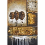 Artistically Painted Montage I Classy Painting by Yosemite Home Decor
