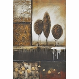 Artistically Painted Montage II Classy Painting by Yosemite Home Decor