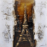 Artistically Painted Paris a la Mode I Painting by Yosemite Home Decor