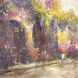 Artistically Painted Printemps II Awesome Painting by Yosemite Home Decor