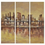 Artistically Painted Urban Life Classy Painting by Yosemite Home Decor