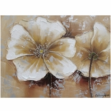 Artistically Styled Full Bloom II Painting by Yosemite Home Decor