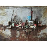 Artistically Styled Metropolis II Classy Painting by Yosemite Home Decor