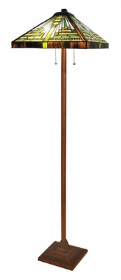 Arty and Edgy Mission Floor Lamp by Chloe Lighting