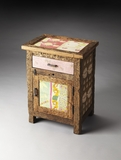 Arty Medley Reclaimed Wood Chairside Chest by Butler Specialty