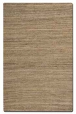 """Aruba Camel Brown 16"""" Woven Jute Rug with Natural Striations Brand Uttermost"""