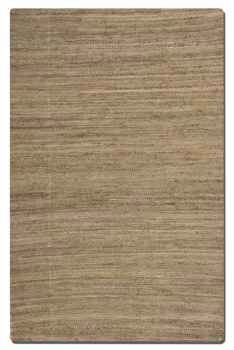 "Aruba Camel Brown 16"" Woven Jute Rug with Natural Striations Brand Uttermost"