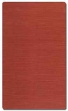 """Aruba Carmine 16"""" Woven Jute Rug in Red with Natural Striations Brand Uttermost"""