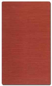 "Aruba Carmine 16"" Woven Jute Rug in Red with Natural Striations Brand Uttermost"