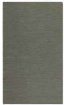 "Aruba Grey 16"" Woven Jute Rug with Natural Striations Brand Uttermost"