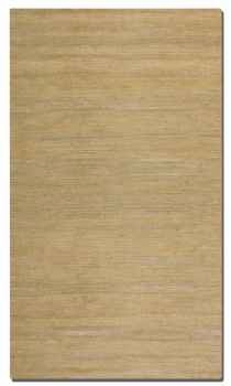 Aruba Wheat 5' Woven Jute Rug with Natural Striations Brand Uttermost