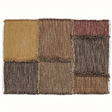 Astute and Appealing Kendrick Patchwork Rug Rect by VHC Brands