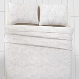 Atlantis Pearl Twin Quilt 86x68 - 25718 by VHC Brands