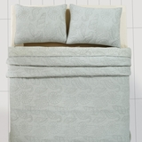 Atlantis Watersedge Twin Quilt 86x68 - 25704 by VHC Brands