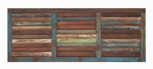 Attractive and Functional Wooden Wall Panel in Rectangular Shaped Brand Woodland