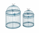 Attractive and Lovely Set of 2 Acrylic Bird Cages by Woodland Import